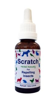 Scratch, Herbal Remedy to Relieve and Prevent Fleas in Dogs